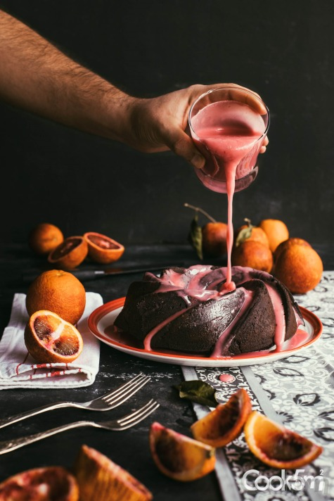 Hisham Assaad food styling photography cookin5m2 -blood orange dark chocolate cake food photography recipe - cookin5m2-composed